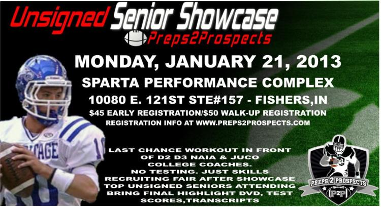 Unsigned Senior Showcase