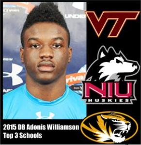 adonis williamson top 3