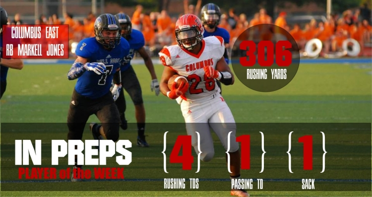 Markell Jones Week 2 Player of the Week