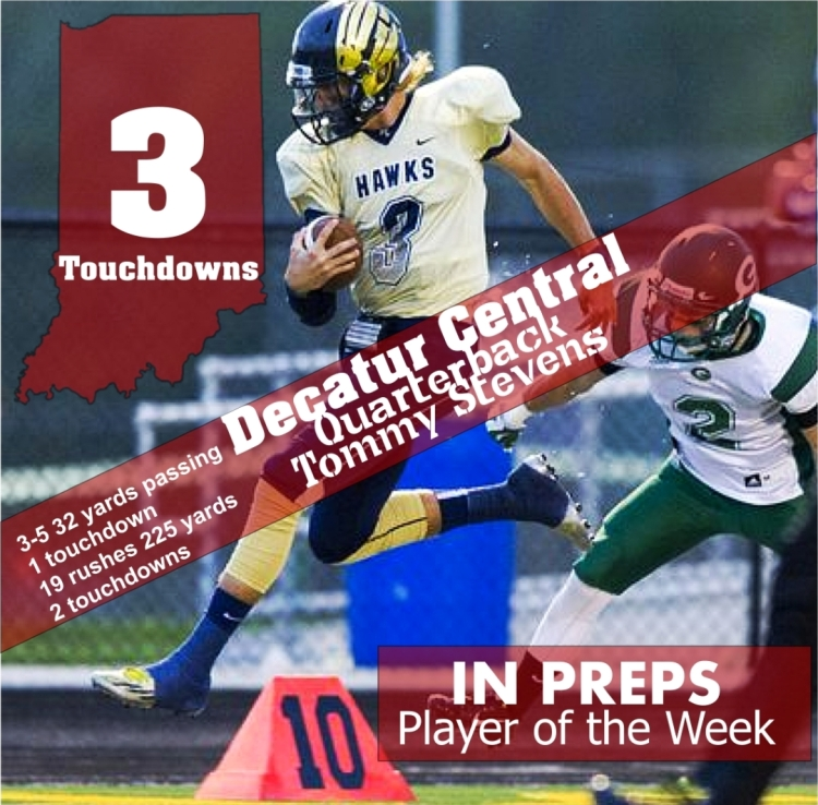 Tommy Stevens week 7 player of the week