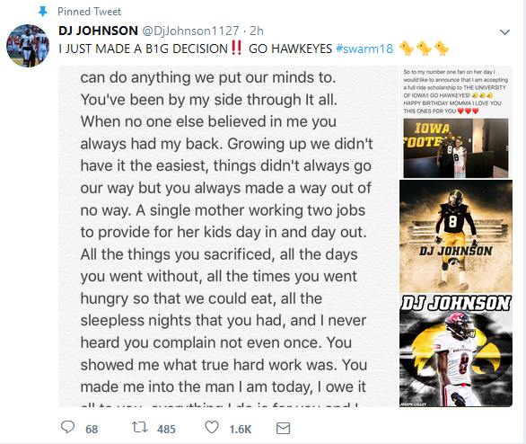 dj johnson twitter