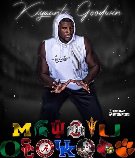 Kiyaunta Goodwin Announced His Top 13